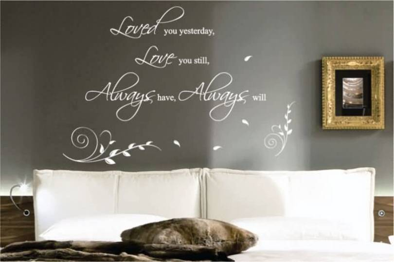 Love Quotes Wall Decals 15