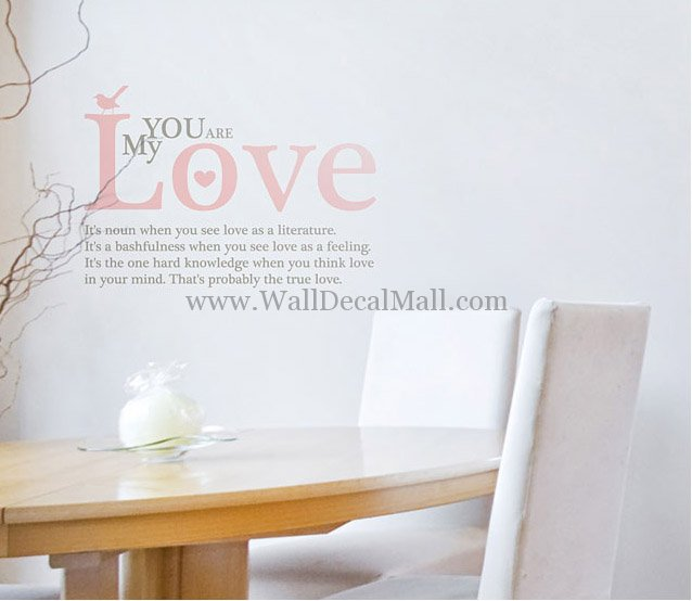 Love Quotes Wall Decals 20