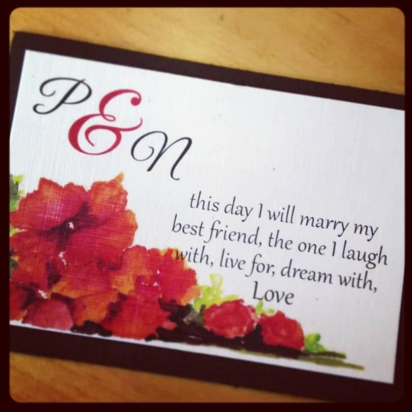 Love Quotes Wedding Invitation 04