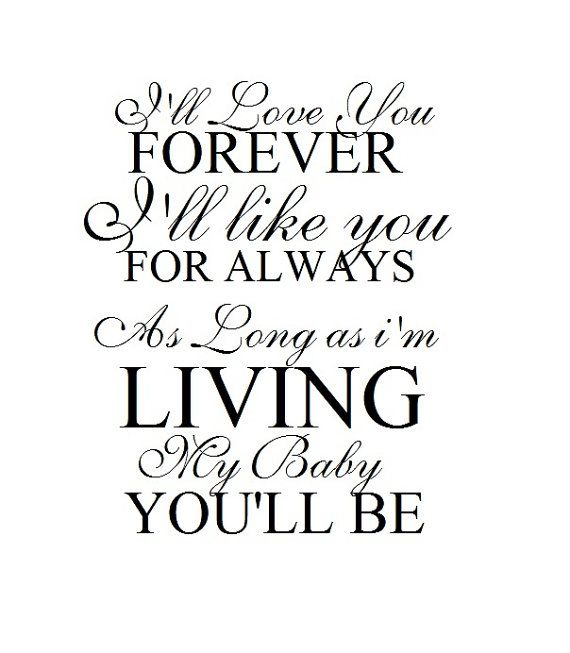 Love You Forever Book Quotes Mesmerizing Love You Forever Book Quotes 16  Quotesbae