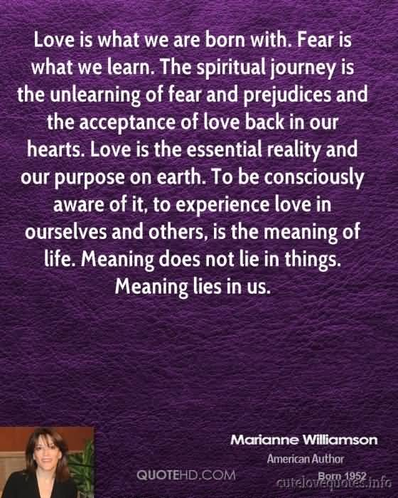 Return To Love Quotes Unique 20 Marianne Williamson A Return To Love Quotes  Quotesbae