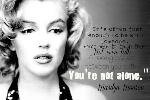 Marilyn Monroe Quotes About Friendship Beauteous Marilyn Monroe Quotes About Friendship 05  Quotesbae