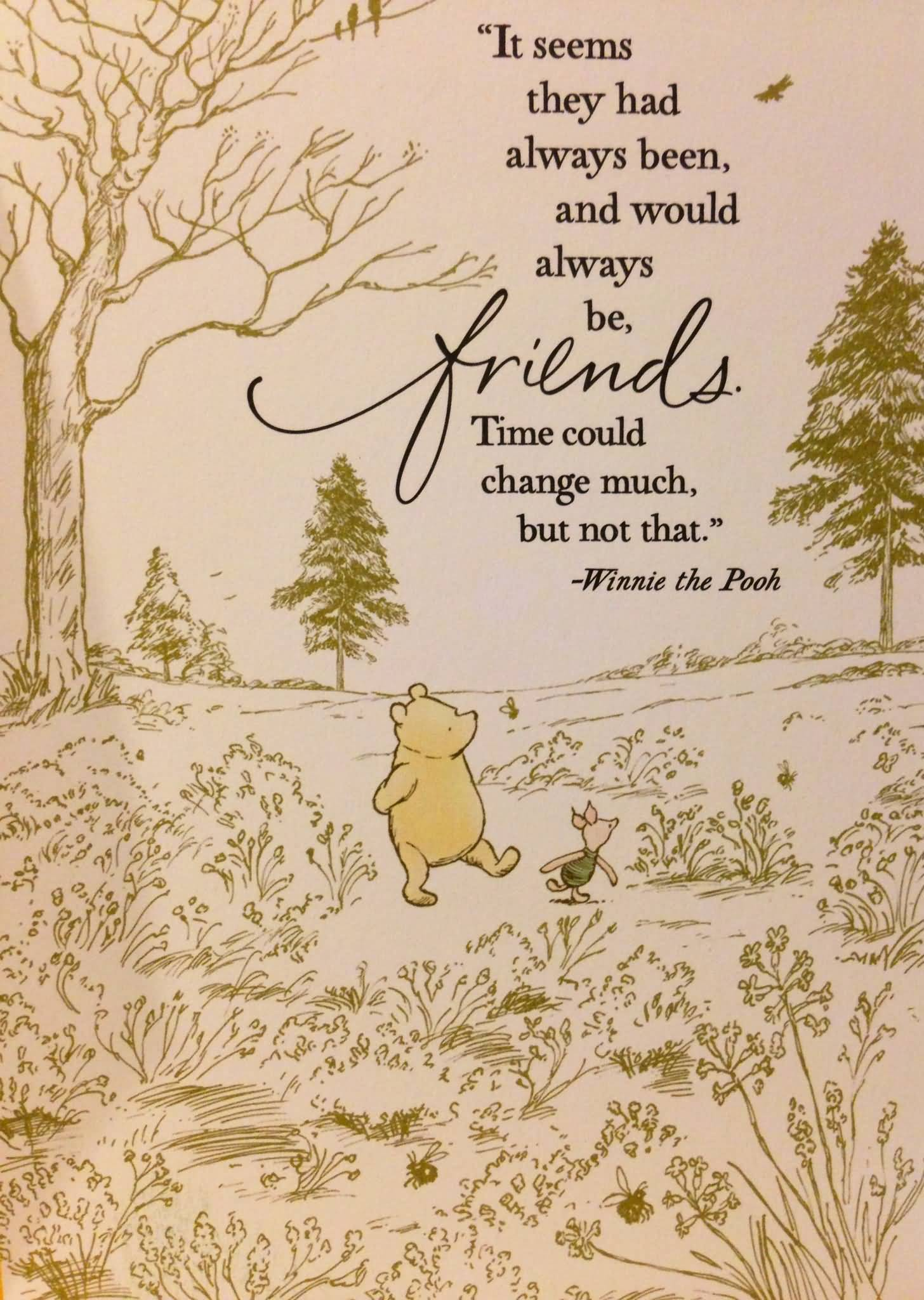 Quotes From Winnie The Pooh About Friendship Pooh Quotes About Friendship 14  Quotesbae
