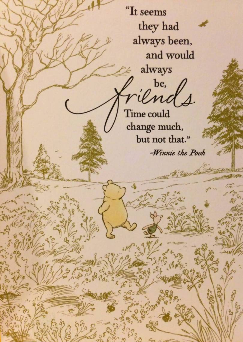 Winnie The Pooh Quote About Friendship 20 Pooh Quotes About Friendship Images & Photos  Quotesbae