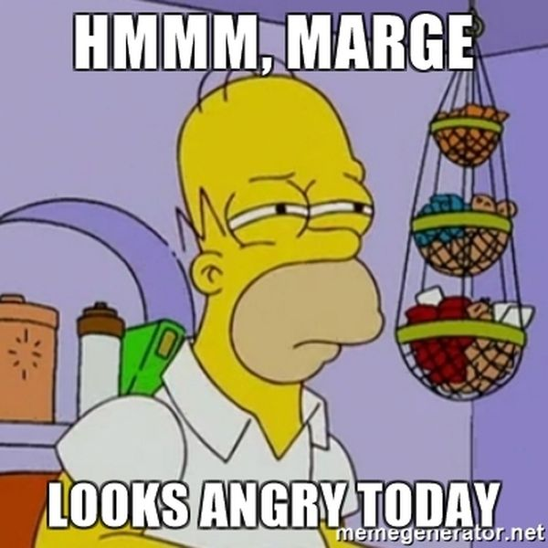 Very Funny glorious homer simpson mmm meme joke