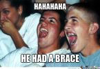 Brace Face Meme Funny Image Photo Joke 15