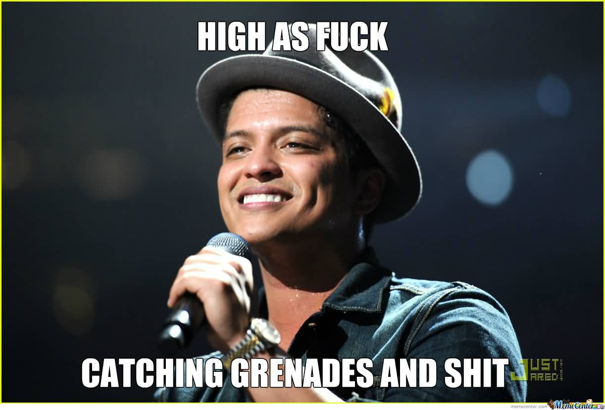 Bruno Mars Meme Funny Image Photo Joke 05