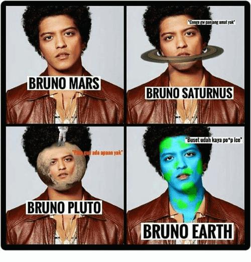 Bruno Mars Meme Funny Image Photo Joke 06