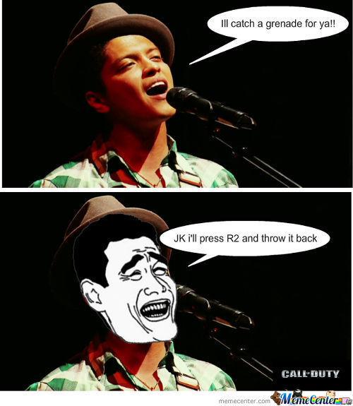 Bruno Mars Meme Funny Image Photo Joke 07