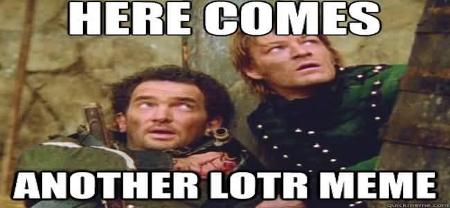 Lotr Meme Funny Image Photo Joke 12