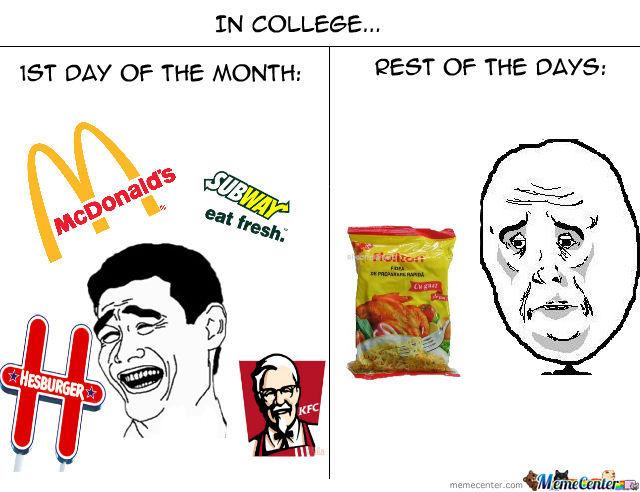 College Life Meme Funny Image Photo Joke 13