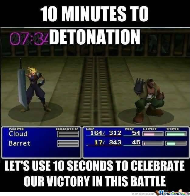 Final Fantasy Meme Image Joke 16