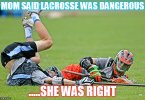 Lacrosse Meme Funny Image Photo Joke 10