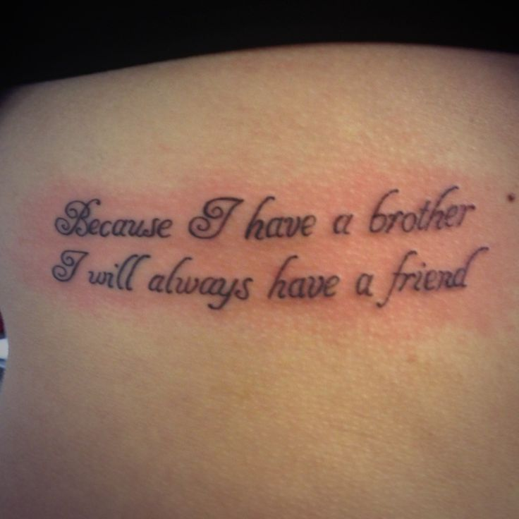 Tattoo Brother Quotes Meme Image 09
