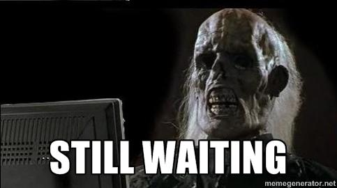 Waiting Skeleton Meme Funny Image Photo Joke 16