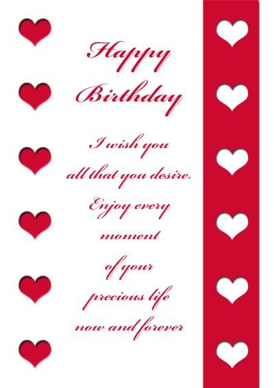 Valentine Card Design Happy Birthday Cards For Husband Free Download
