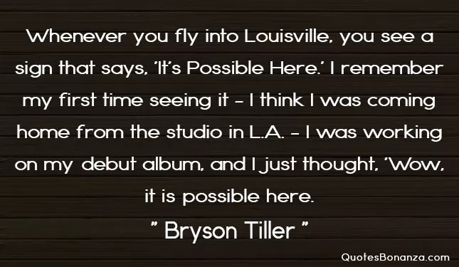 bryson tiller picture quote