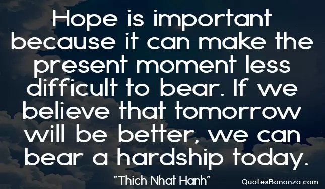 great words by Thich Nhat Hanh