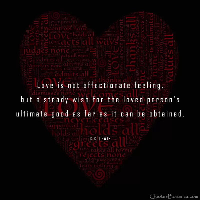 love quotes by c s lewis