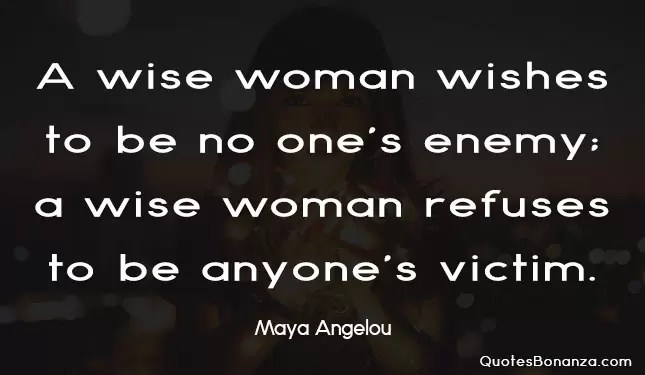 wise woman quote
