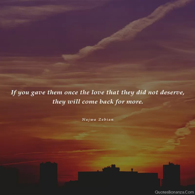 if-you-give-love-once