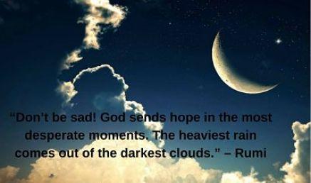 rumi quotes be not sad