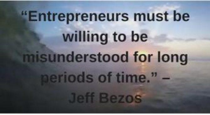 jeff bezos quotes on entrepreneurs