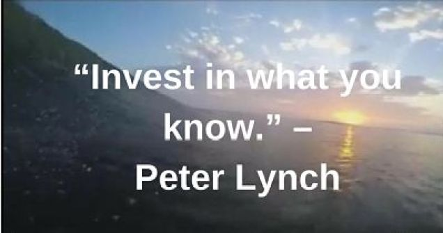 peter lynch quotes investing