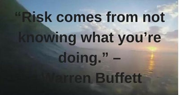 warren buffett quotes on risk