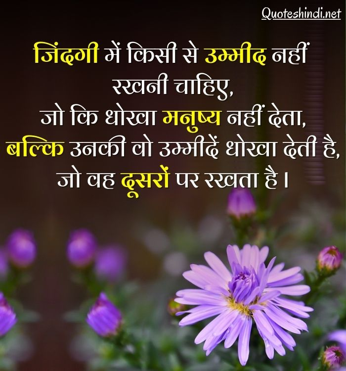 simple life quotes in hindi