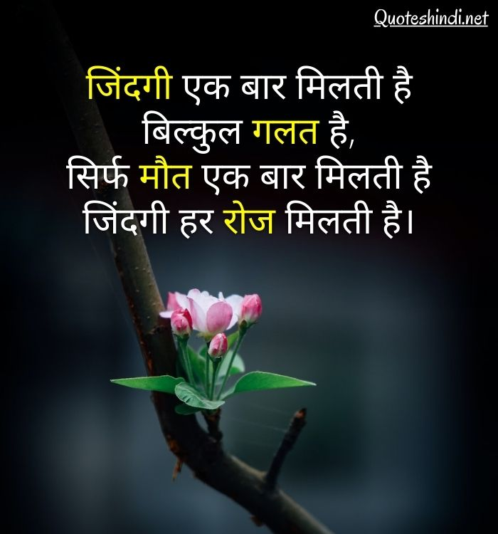 true inspirational quotes in hindi