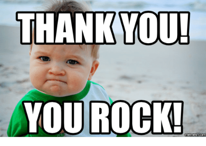 29 Thank You Meme | Quotes and Humor