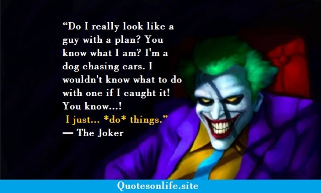 Joker sad quotes