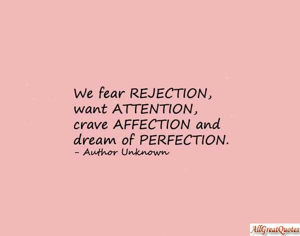 Image result for rejection quotes