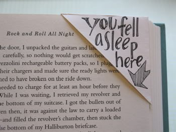 You fell asleep here ~ Books Quote