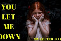 YOU LET ME DOWN QUOTES FEELING LET DOWN IN