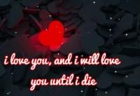 I love you more I love you more than