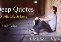 Deep Meaningful Quotes About Life amp Love