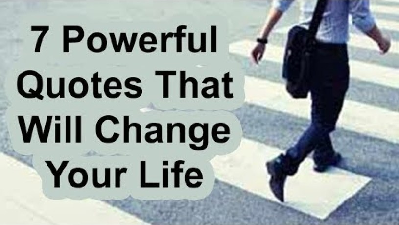 Life Can Change Quotes