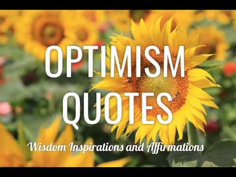 OPTIMISM QUOTES That Will Inspire You