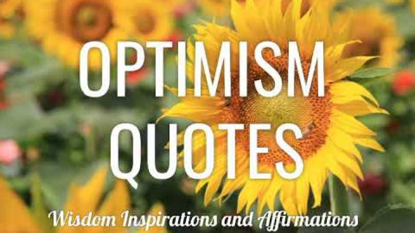 Optimism Quotes By Famous People