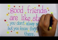 friendship day quote for greeting making how to draw