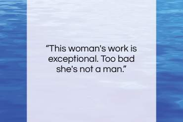 """Edouard Manet quote: """"This woman's work is exceptional. Too bad…""""- at QuotesQuotesQuotes.com"""