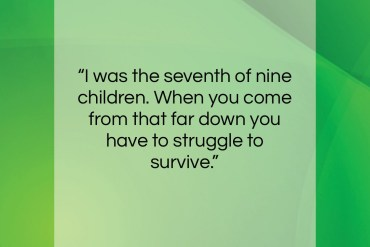 "Robert Kennedy quote: ""I was the seventh of nine children….""- at QuotesQuotesQuotes.com"