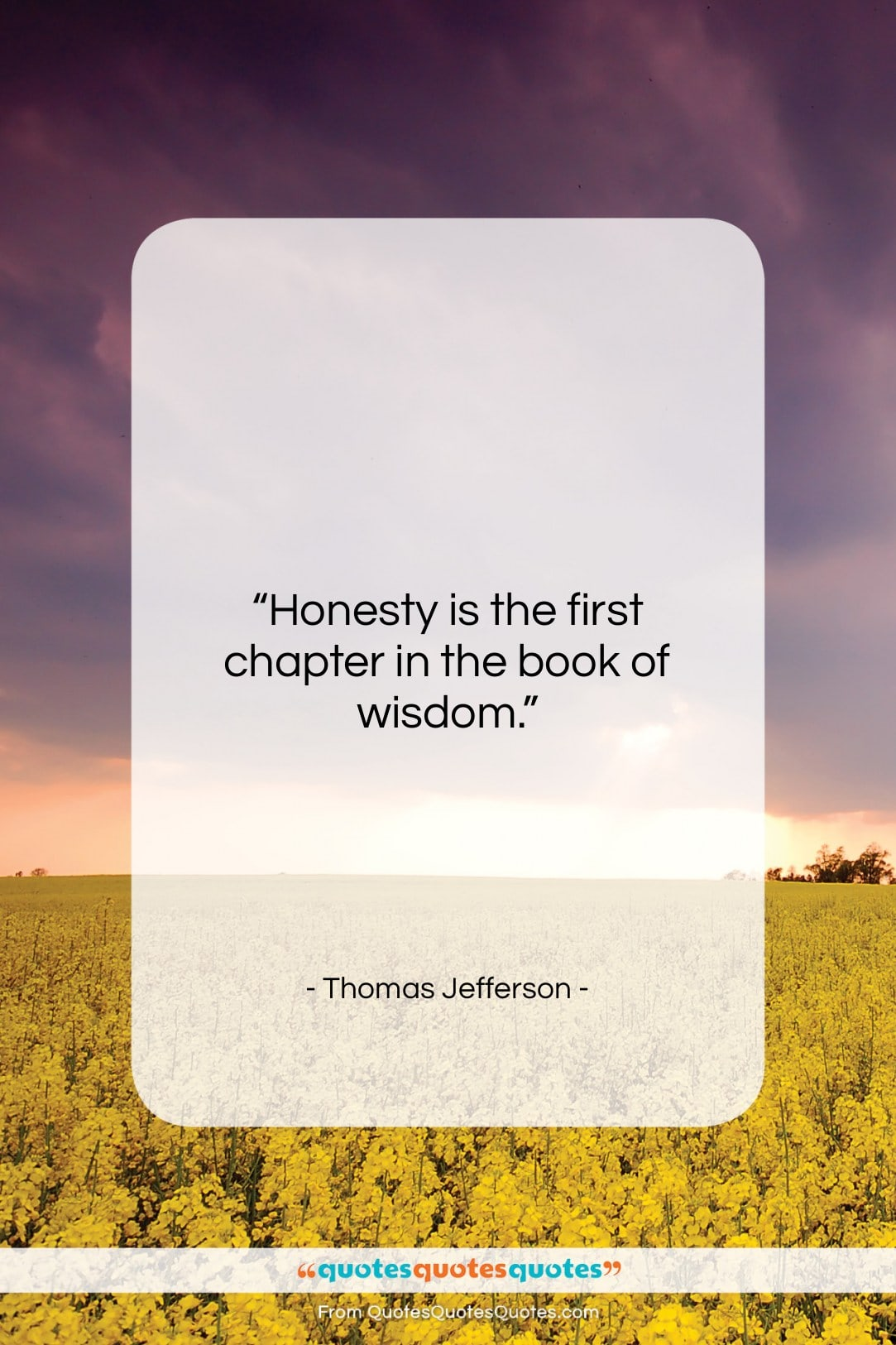 Get the whole Thomas Jefferson quote: \