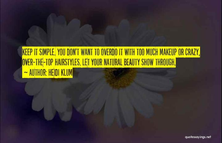 Natural Beauty Vs Makeup Quotes Wajihairco