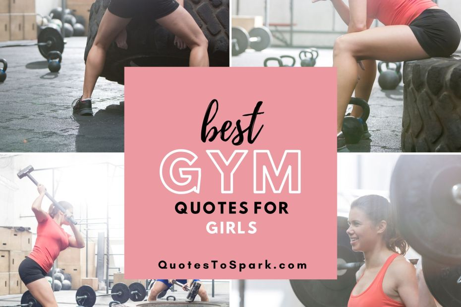 130 Best Gym Quotes For Girls With Inspiring Images