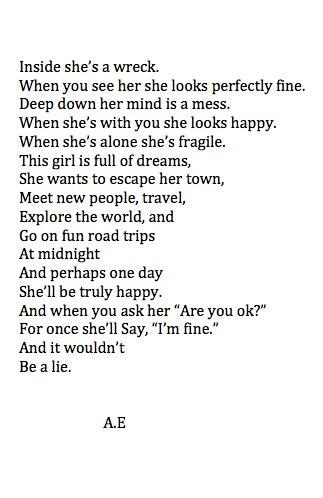 Sad And Depressing Quotes :A.E. #bipolar #bipolar2 ...