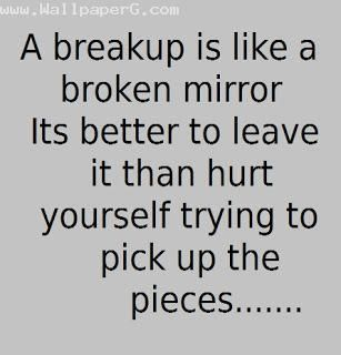 Feeling better after a break up quotes