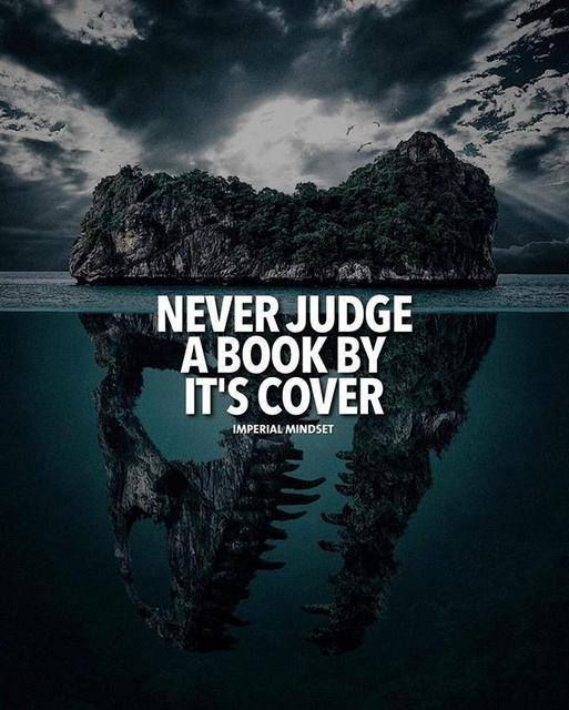 Book Cover Inspiration Quotes ~ Inspirational positive quotes never judge a book by its